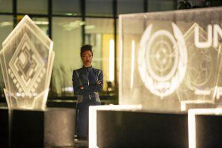 Michael Burnham on Star Trek: Discovery season 1 finale