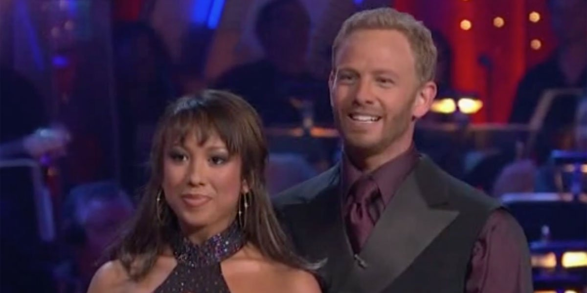 Ian Ziering and Cheryle Burke Dancing with the Stars Season 4 critique
