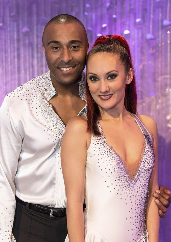 Colin Jackson talks 'giggles' on Dancing on Ice