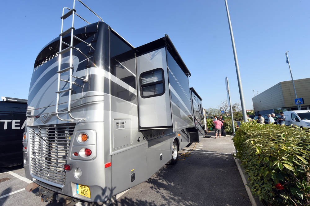 The Mobile Home Of Richie Porte At 2015 Giro DItalia