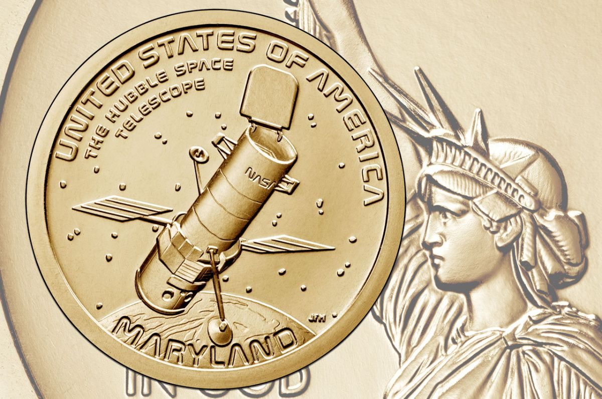Hubble Space Telescope to feature on American Innovation $1 coin