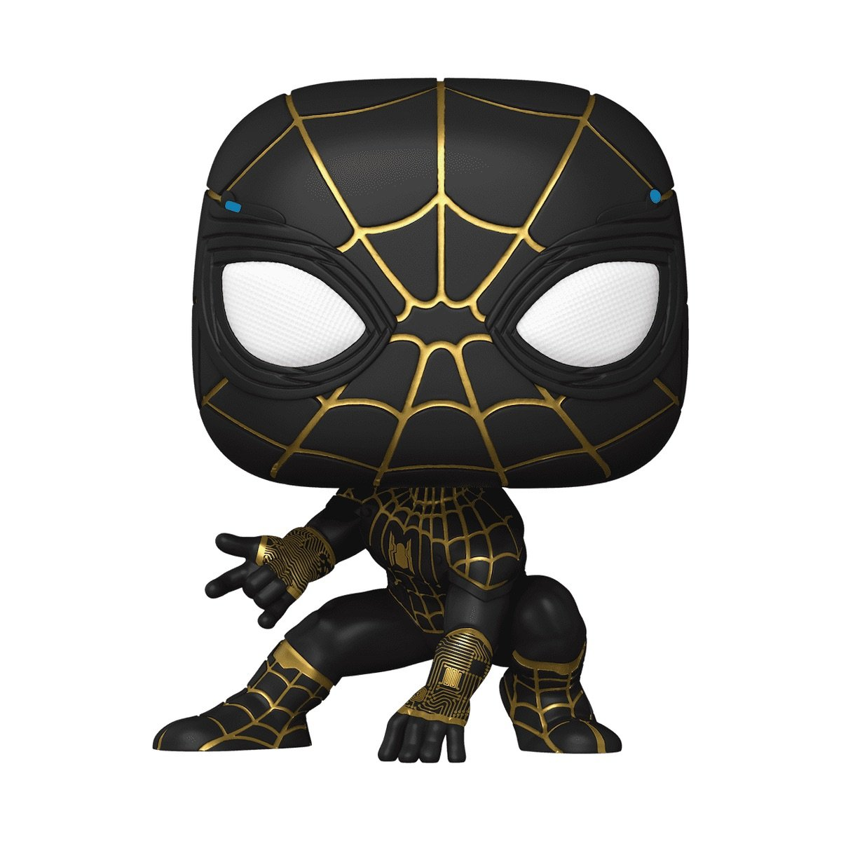 Spider-Man: No Way Home black and gold suit