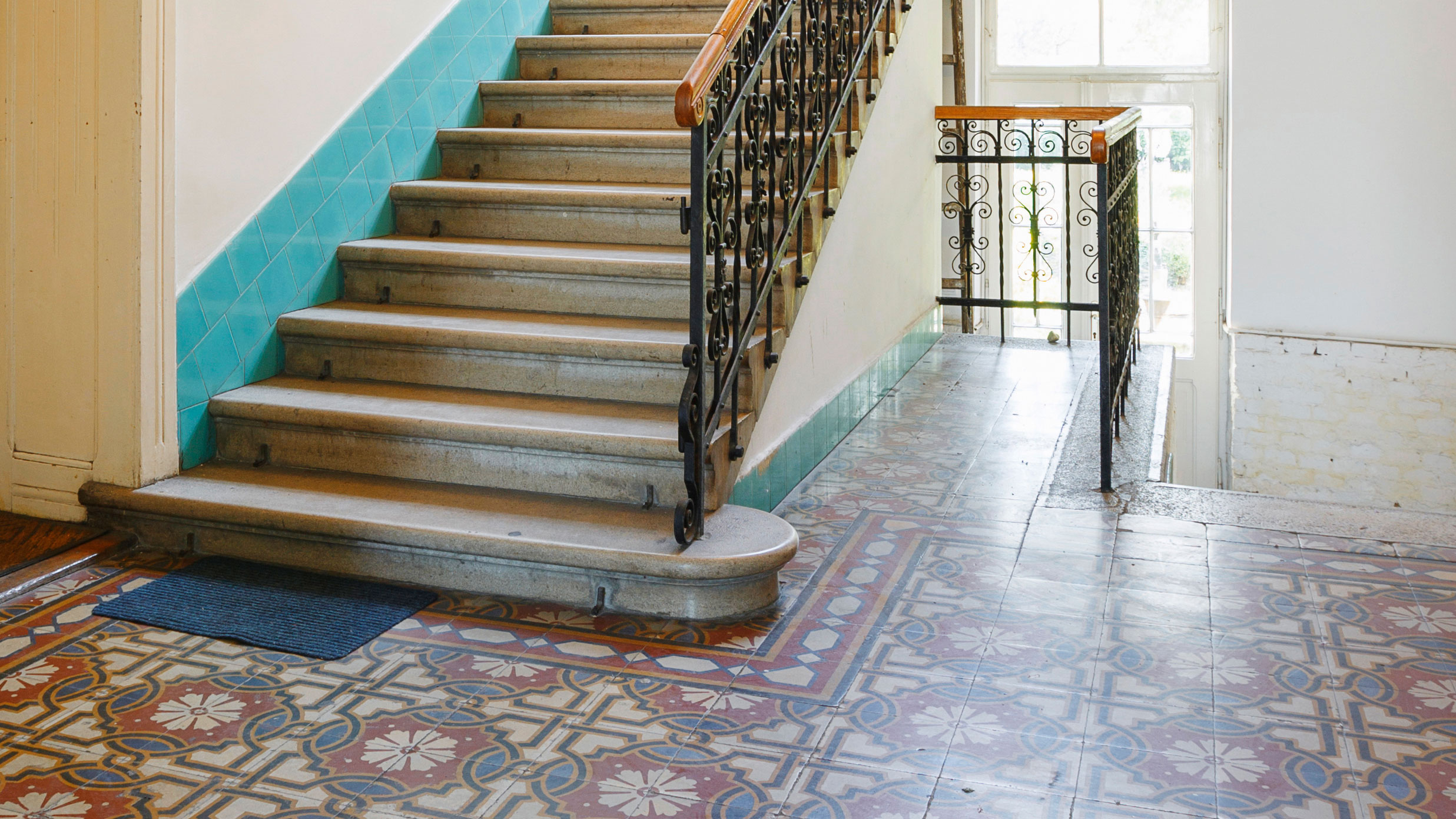 Restoring And Cleaning Encaustic Floor Tiles Real Homes