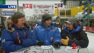 VUit Iditarod Sled Dog race