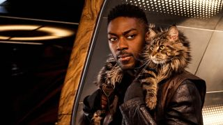 "David Ajala as Book in ""Star Trek: Discovery."""