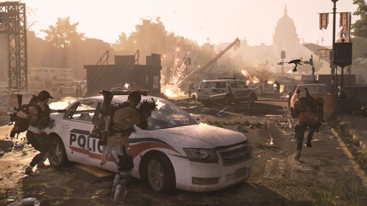 The Division 2 is getting santa hats, snowballs and permadeath