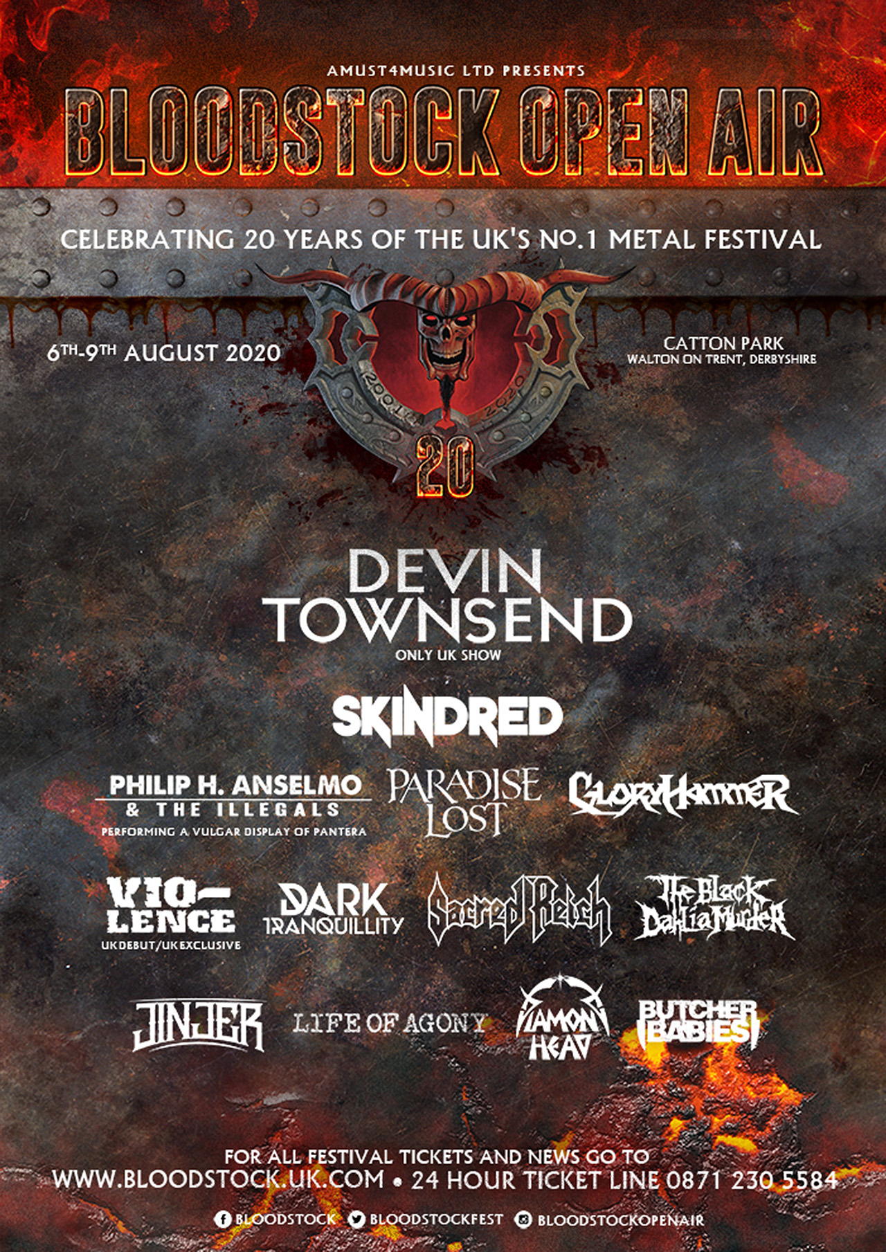 Bloodstock Open Air reveals the names of four more artists for 2020 main stage | Louder