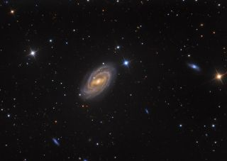 Barred Spriral Galaxy M 109 by Franke