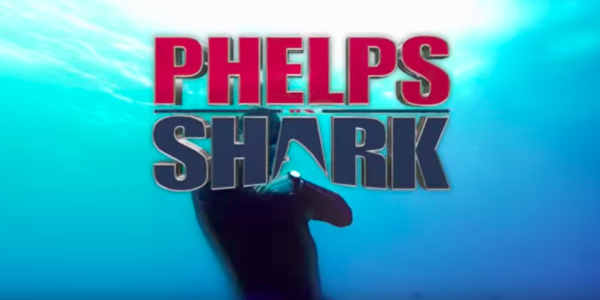 discovery michael phelps shark phelps vs. shark great gold vs. great white