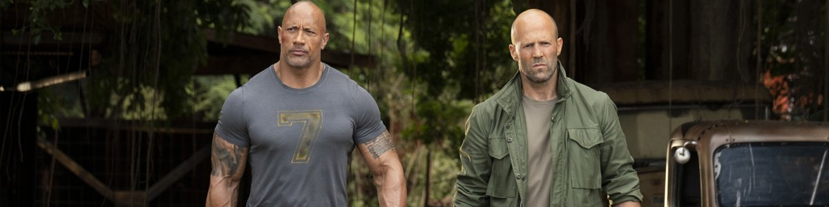 Jason Statham and The Rock Hobbs & Shaw