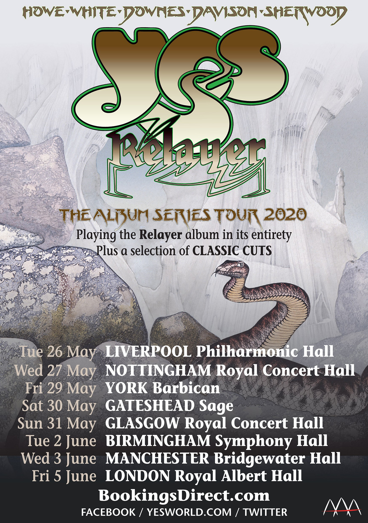Yes announce 2020 Relayer UK tour   Louder
