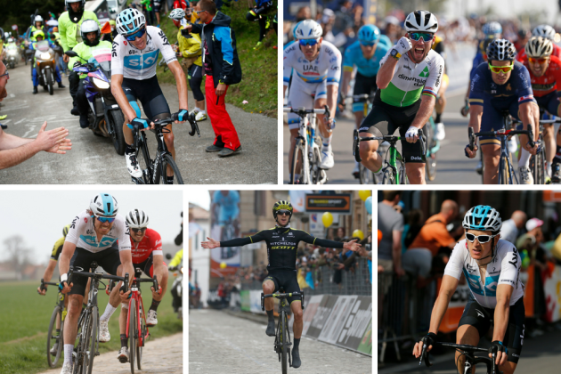 The five British riders taking part in the 2018 Tour de France ... 34ade1a14