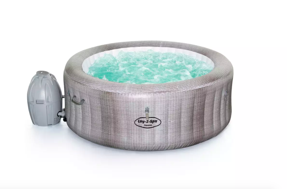 These bestselling Lay-Z inflatable hot tubs are finally back in stock