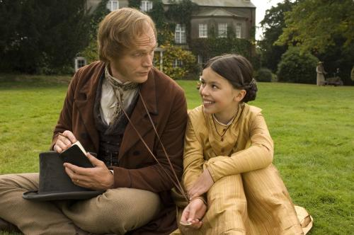 Creation - Charles Darwin (Paul Bettany) & his beloved daughter Annie (Martha West)