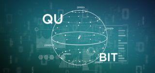 Stock image of a Qubit