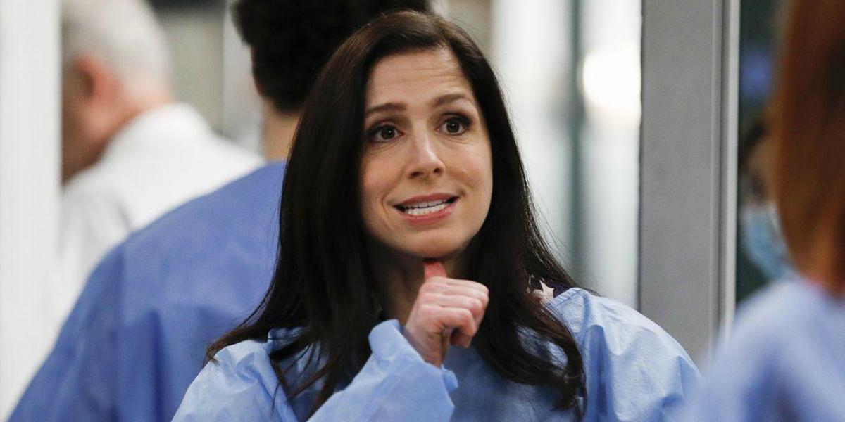 Grey's Anatomy Shoshannah Stern Dr. Riley ABC