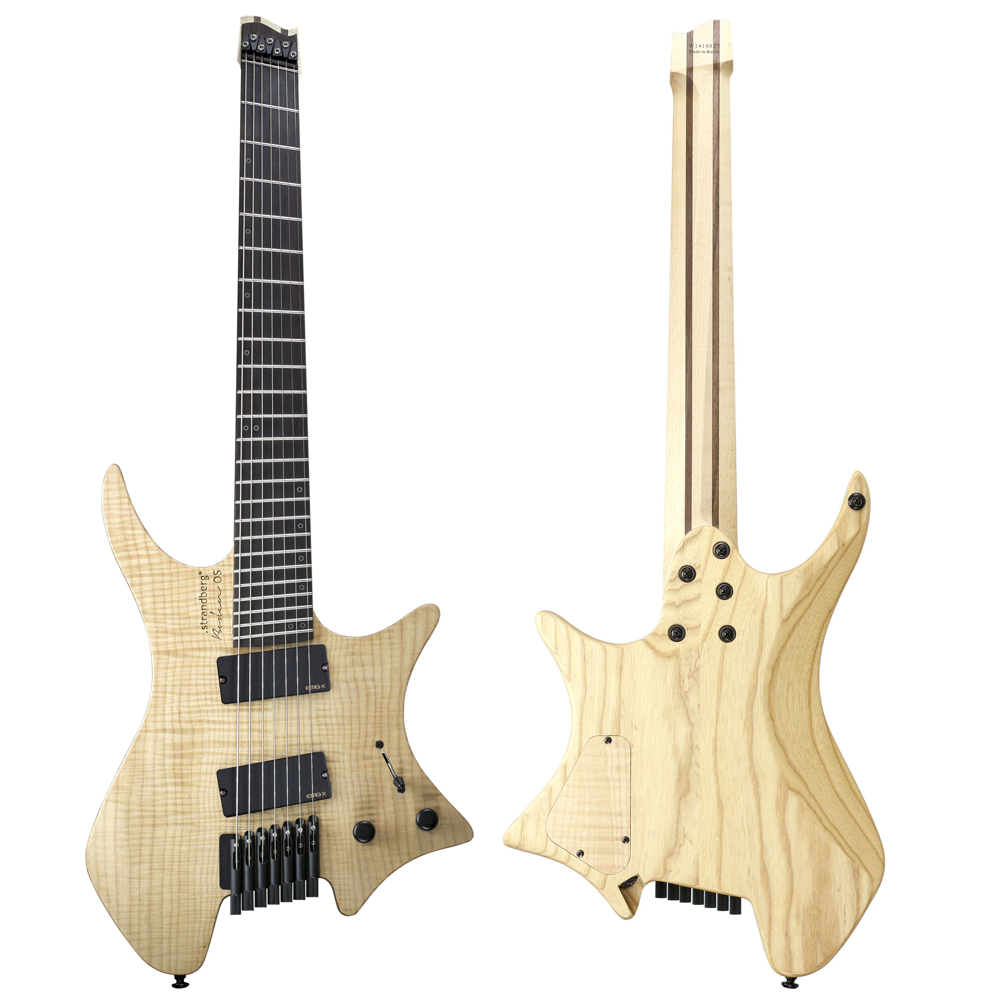 Review Strandberg Boden Os 7 Seven String Guitar Video Guitarworld