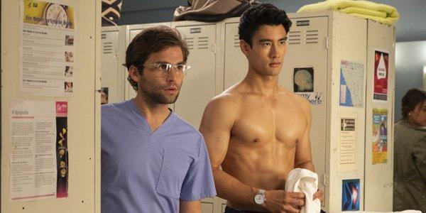 Grey's Anatomy Levi Schmitt Nico Kim ABC