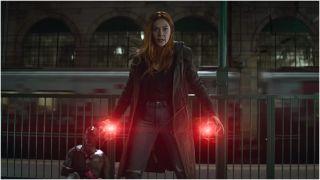 Elizabeth Olsen in Avengers: Infinity War