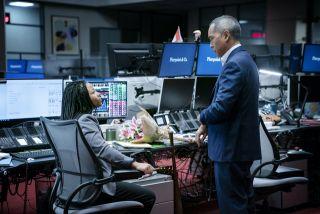Myha'la Herrold and Ken Leung in HBO's 'Industry'