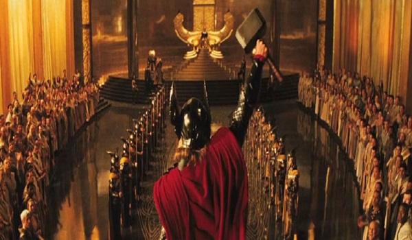 Thor on Asgard