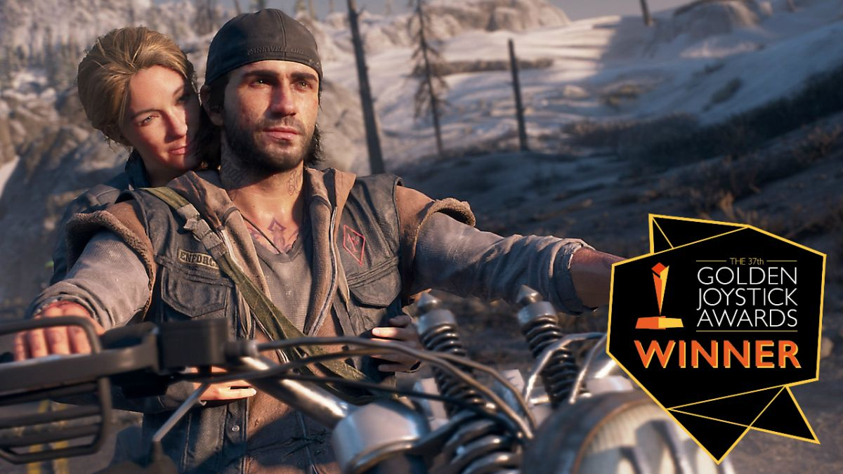 Days Gone rides to victory as The Golden Joystick's PlayStation Game of the Year for 2019