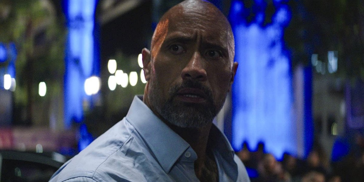 Dwayne Johnson in Skyscraper