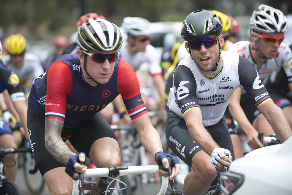 Bradley Wiggins And Mark Cavendish Looking Relaxed At The