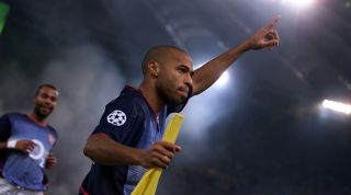 Thierry Henry Roma