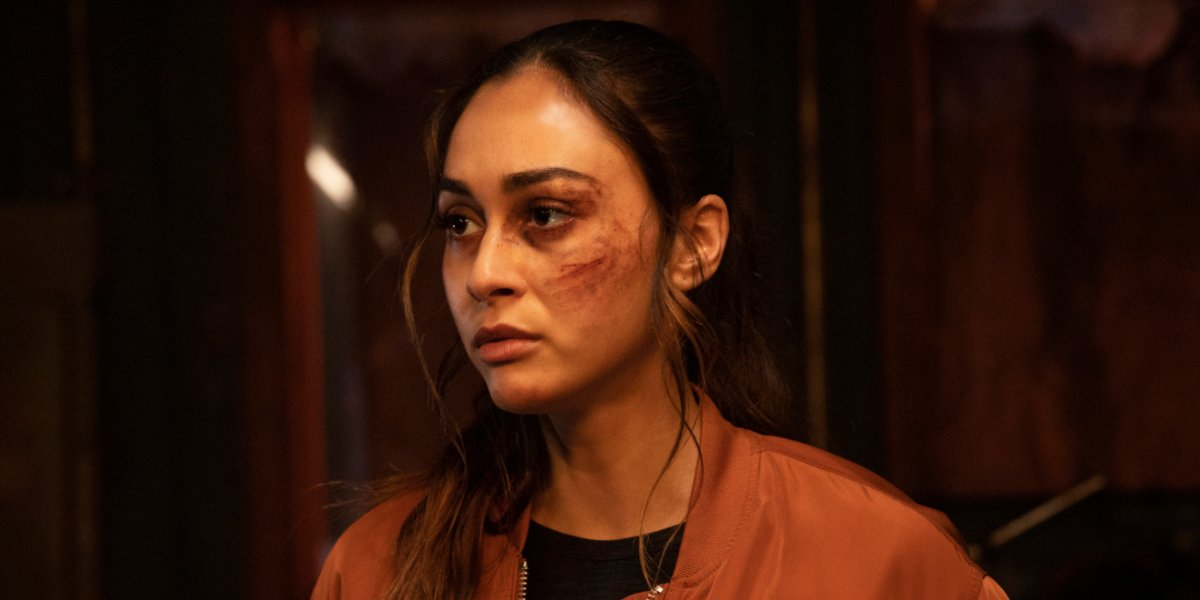 the 100 season 7 raven reyes lindsey morgan the cw