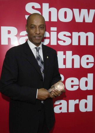 Brendon Batson Show Racism the Red Card Hall of Fame Awards