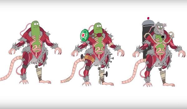 Pickle Rick Rat Suit