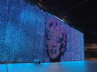 S+H Technical Supplies LED Animation Cloths for Telethon