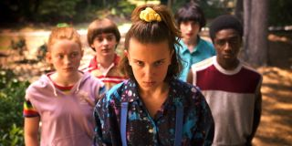 The main cast of the show _Stranger Things_ on Netflix.