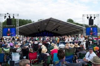XL Video Screens Cambridge Folk Festival