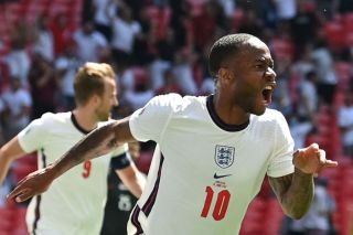 raheem Sterling, England vs Croatia Euro 2020