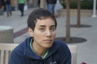 Maryam Mirzakhani, the first female mathematician to win the Fields Medal.