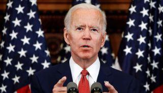 Then-Vice President Joe Biden on the campaign trail in Philadelphia, June 2, 2020.
