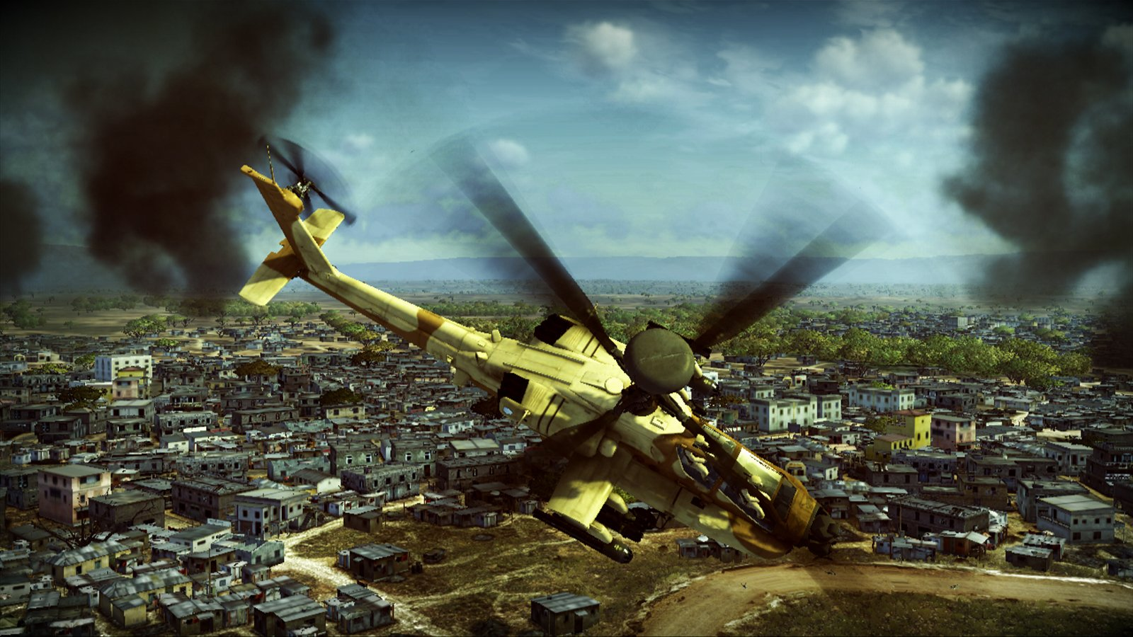 Apache Air Assault Coming To PS3 And Xbox 360 This Fall #13849