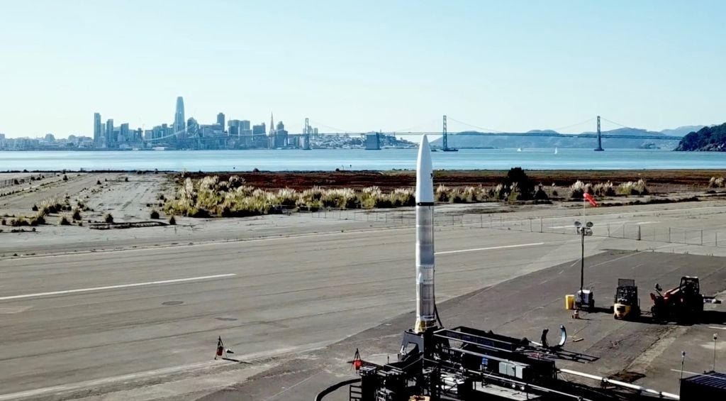 Astra's 1st flight for DARPA Launch Challenge delayed by bad weather
