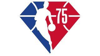 NBA anniversary logo