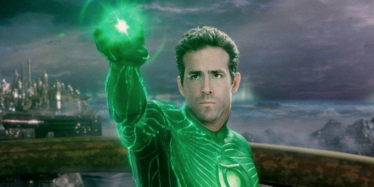 Hal Jordan (Ryan Reynolds) stares off in Green Lantern (2011)
