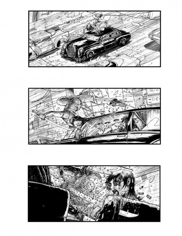 Neuromancer Storyboards Reveal Movie That Might Have Been #5299