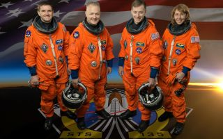 Space Shuttle Atlantis Astronauts