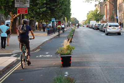 Camden defends use of cycle lane segregation - Cycling Weekly