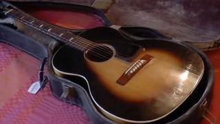 Jimi Hendrix's Epiphone FT79 acoustic guitar