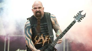 Slayer's Kerry King performing live