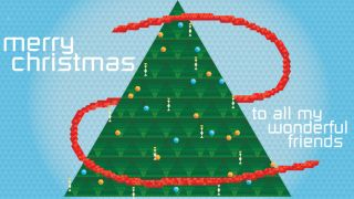 Pascal's triangular Christmas , math