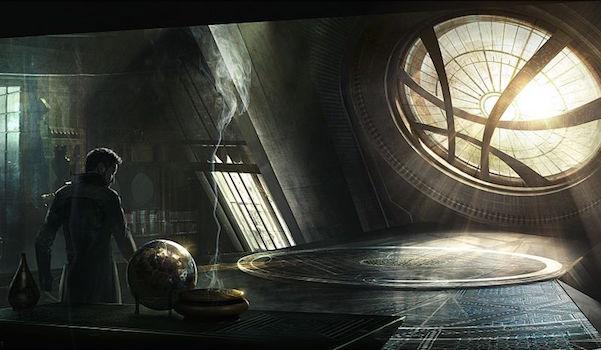doctor strange in sanctum sanctorum
