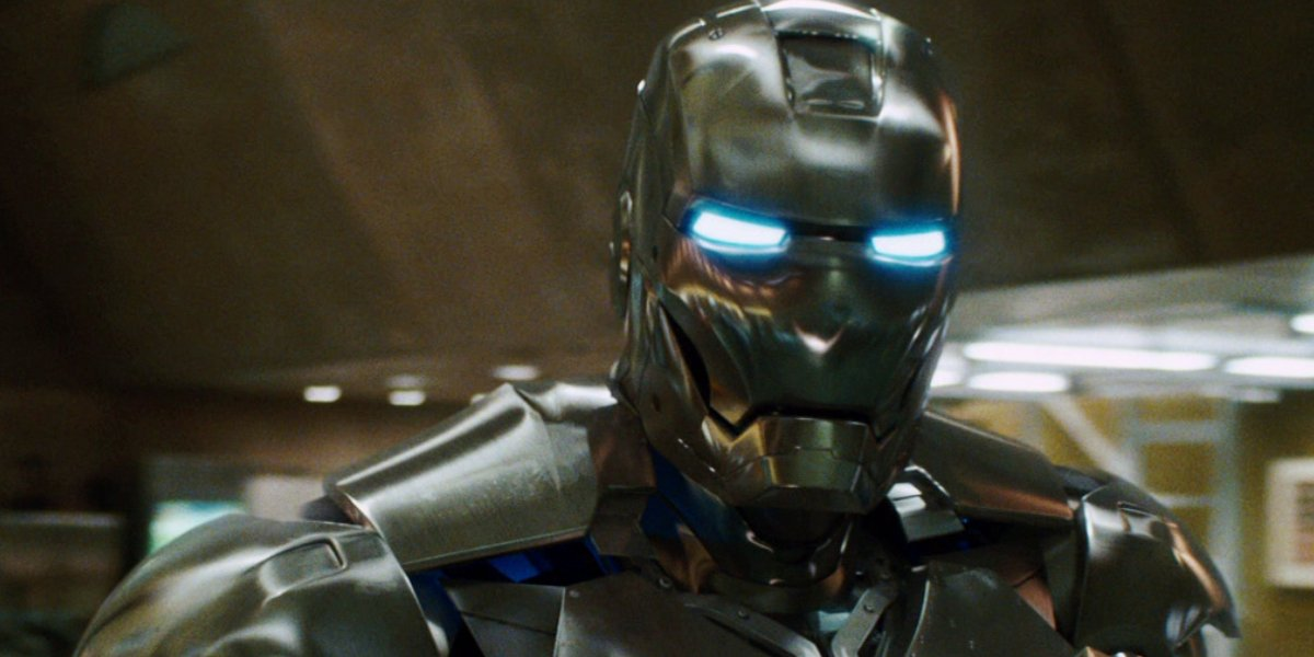 Robert Downey Jr. in Mark II in Iron Man